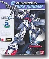 Bandai Hobby #01 Strike Gundam 1/144 Seed Action Figure