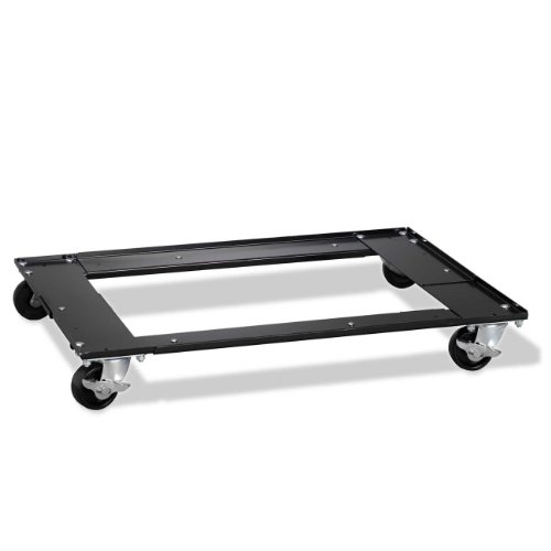 Nice Hirsh Industries Commercial Cabinet Dolly, 5-1/2 by 27 by 5-1/2-Inch, Black for cheap