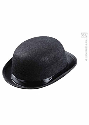 Kids Dimensione nero Felt Bowler Hat