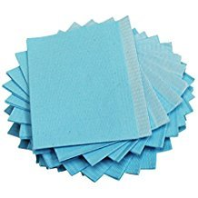 (Dental Bibs Sheets / Lap Cloths 125pcs Color Blue Disposable Tattoo Table Covers Clean Pad size 18
