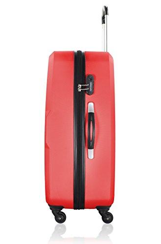 UNANYME GEORGES RECH Trolley rígido Cannes Rojo 48 cm