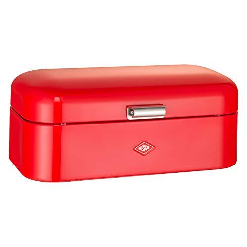 WESCO Grandy - Panera de Acero (con Recubrimiento electrostático), Color Rojo