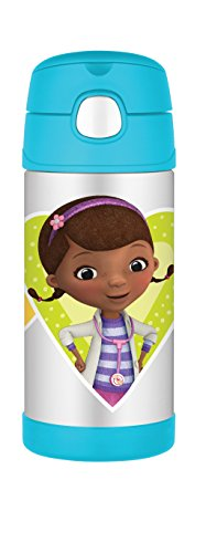 Thermos Funtainer 12 Ounce Bottle, Doc McStuffins]()