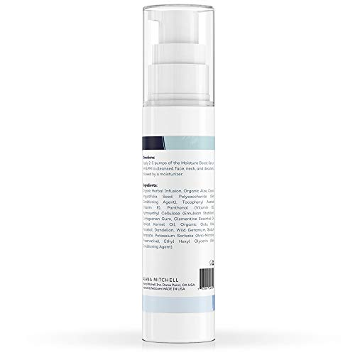 Hyaluronic Acid Serum For Face, Hydrating Anti Aging Face Moisturizer 2oz Fight Wrinkles, Sun Damage, and Fine Lines - Repairs Sensitive, Dry and Combination Skin All Natural Pure Organic Ingredients