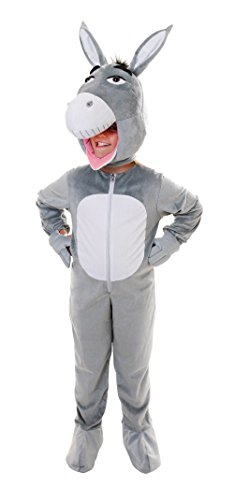 Bristol Novelty Donkey Big Head Costume (L) Age 7 - 9 Years