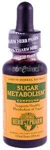 Herb Pharm Dropper Sugar Metabolism Compound -- 1 fl oz
