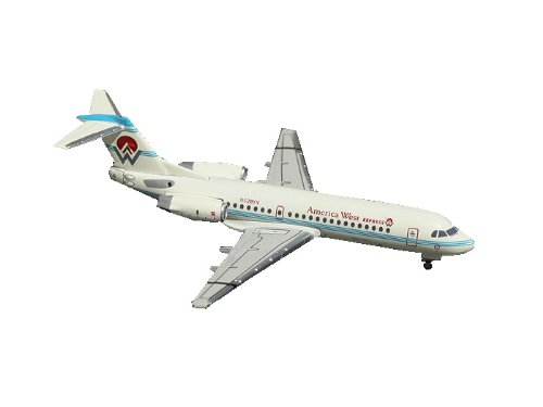 Gemini Jets America West Express Fokker 70 1:400 Scale (Airlines America Gemini West)