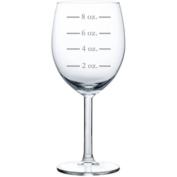 Wine Glass Goblet Measuring Cup Ounces 10 Oz Kitchen Dining