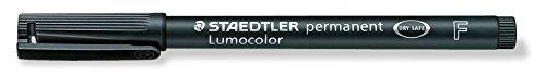 Lumocolor Permanent Marker Fine Black
