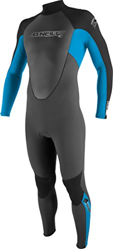 O'Neill Wetsuits Jungen Neoprenanzug youth reactor 3/2 full, Graphite/Tahiti/Black, 14, 3802-BB3
