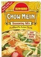 Mix Packet 1 (Sun-Bird Chow Mein Seasoning Mix (1 oz Packets) 4 Pack by Sun Bird)