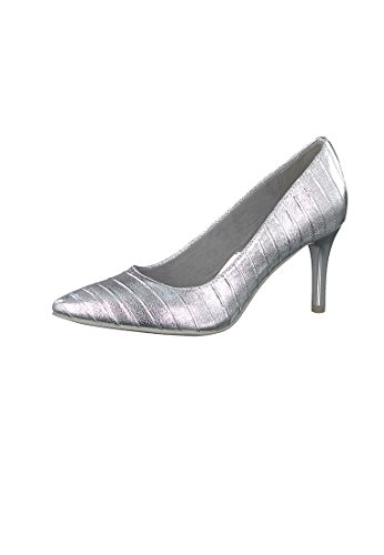 Tamaris Pumps Silver Structure with TOUCH-IT sole 1-22415-28 927 silver Silber acFMKFc9rs