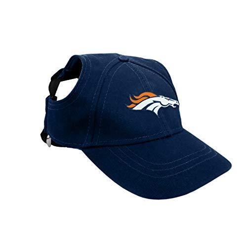 NFL Denver Broncos Pet Baseball Hat, XS