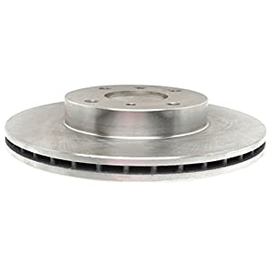 ACDelco 18A589A Advantage Non-Coated Front Disc Brake Rotor