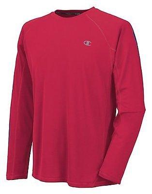 Champion Men's Powertrain Long Sleeve T-Shirt, Black, XX-Large