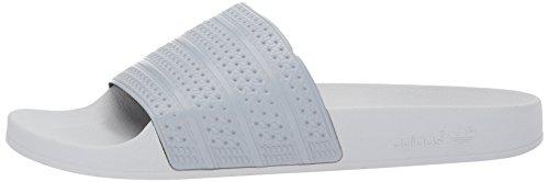 Adilette mid Unisex Grey Grey Adidas Ciabatte Adulto Solid mid Grigio Grey light gRqwd0