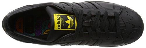 adidas Herren Superstar Pharrell S Sneaker Schwarz