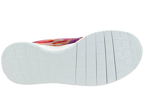 Nike Jr Rosherun Flight Weight Gs - Zapatillas Unisex Niños White/Bld Brry/Ttl Orng/Pnk Pw