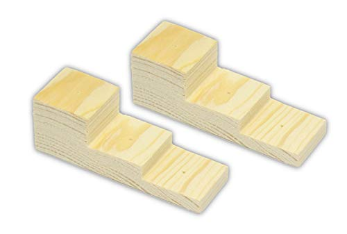 Rudimen Insect Pin Blocks - Pack of 2 Pin Blocks (Perfect for Pinning Insects or Other Specimen)