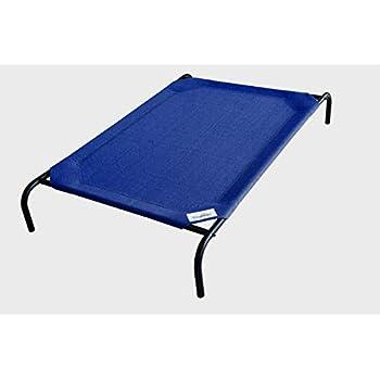 Coolaroo The Original Elevated Pet Bed, Large, Aquatic Blue