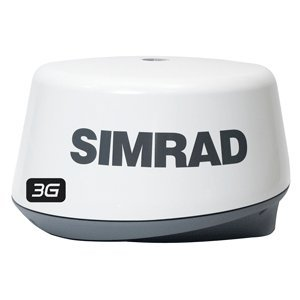 Simrad 3G Broadband Radar Includes Scanner, Scanner Cable 20 m (66 ft), RI10 Interface Box, Yellow Ethernet Cable - 1.8 m (6 ft)