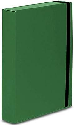 Caja para documentos caribe A4, almacenamiento con banda elástica ...