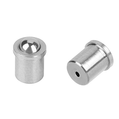 - Spring Ball Plunger 304 Stainless Steel Smooth Precision Positioning Beads Screw (φ 2 × 3 φ 3 × 4 φ 4 × 5) (Dia × L)(4 ×5 mm)