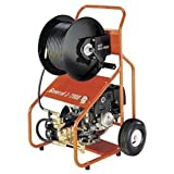 General Wire Gas Water Jet w/ 200'x3/8'' Hoses, Nozzle Set & Cleaning Tool,JM-2900-B