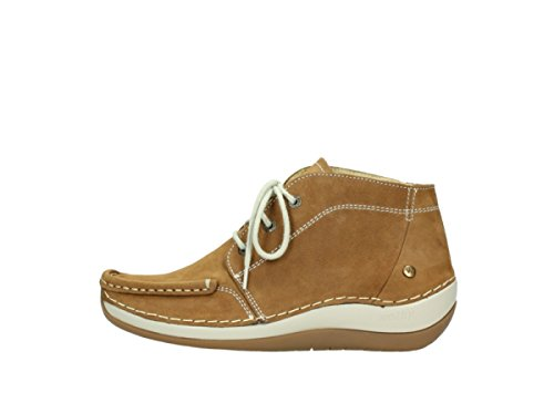 Tobacco Boots Nubuck Olympia Wolky 10410 Comfort up Lace YHptR