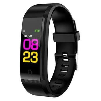441e6ef77402 Sonolife - Reloj Monitor de Actividad Física Inteligente Bluetooth  Smartwatch Presión Ritmo Cardiaco Hora de Sueño Carorias Quemadas tipo  Pulsera Fitband