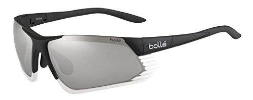 Bolle Cadence Sunglasses, Shiny Black/White TNS Gun Oleo AF
