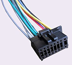 31zPpjKUqDL._SX300_ amazon com pioneer power cord harness speaker plug for receiver pioneer fh x720bt wiring diagram at bayanpartner.co