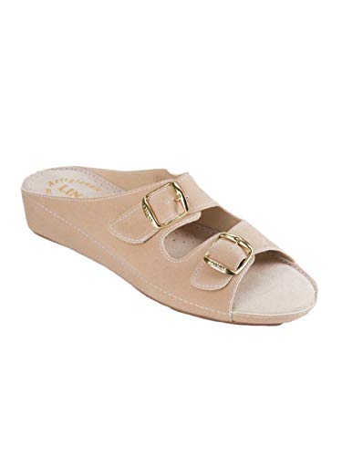 LINA pour Femme Chaussons LINA Femme Beige Femme pour Beige Femme Chaussons pour pour LINA Chaussons Chaussons LINA Beige ArfqnAwc