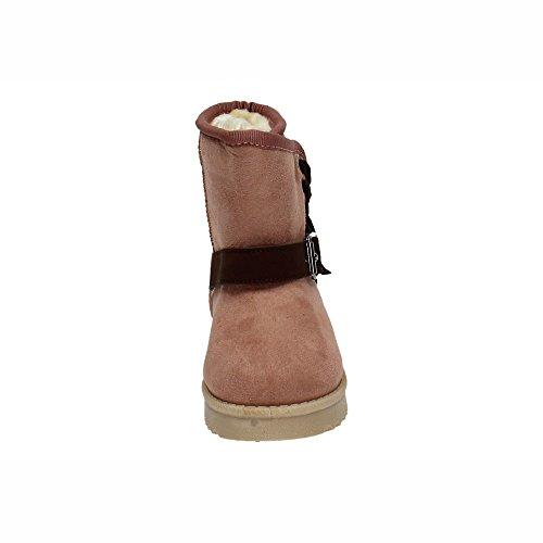 ZAPATOP K1647404 BOTÍN Forrado Rosa NIÑA Botas-Botines: Amazon.es: Zapatos y complementos
