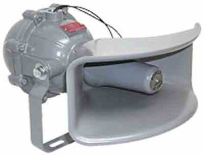 Class I, Div. I Explosion Proof Horn - 120VAC or 24VDC - Industrial Siren(-24VDC) -