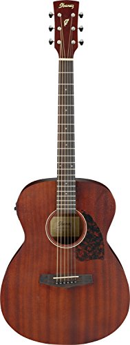 Ibanez PC12MHE 6 String Performance Grand Concert Acoustic Electric Guitar, 20 Frets, PC Neck, Rosewood Fretboard, Satin Polyurethane, Open Pore Natural