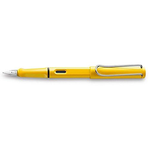LAMY Safari Medium Nib Fountain Pen - Yellow