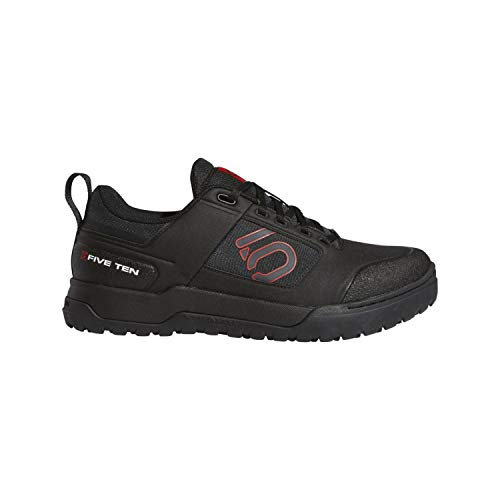 (Five Ten Impact Pro Mens Mountain Bike Shoes, Black/Carbon/Red, 10 )