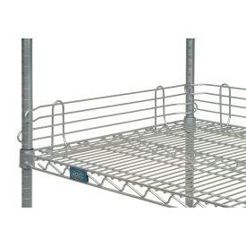 Nexel Industries Silver EP Shelf Ledge - 24W X 4H, AL424EP