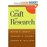 The Craft of Research 3rd (Third) Edition byWilliams