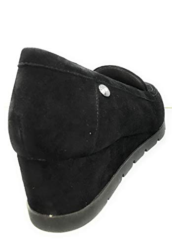 Milly 210076 Camoscio Donna In Stonefly Nero Mocassino 5Fqwvt