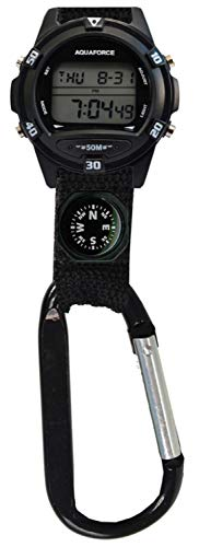 Aquaforce Carabiner Clip Watch with ()