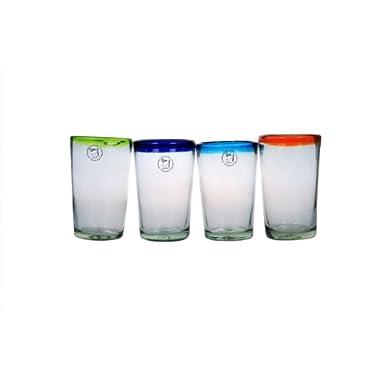 Amici Baja Hiball Glasses, 19 oz - Set of 4