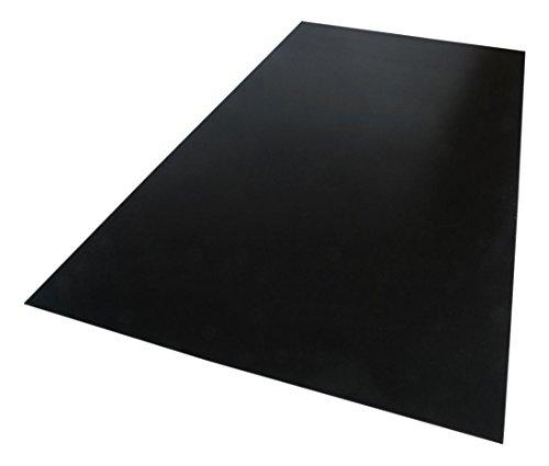 Palight ProjectPVC 12 in. x 12 in. x .236 in. Black Foam PVC