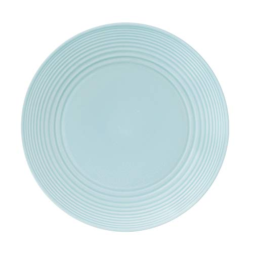 (Gordon Ramsay by Royal Doulton Maze Blue Dinner Plate,)