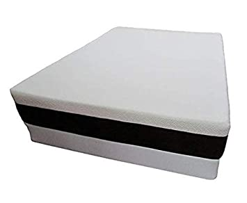 Made in The USA 10 Graphite Infused Memory Foam Mattress Sleeps Cooler Camper RV Queen