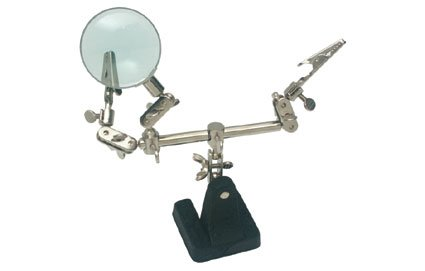 (STEREN - Helping Hand with Magnifying Glass (HER-700))