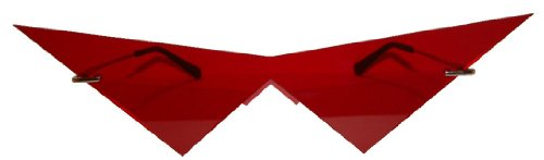 Pointy Nose Costume (Mini red pointy v costume cosplay glasses)