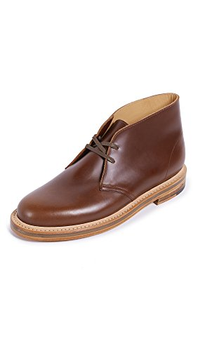 Clarks Mens Woestijn Welt Leren Laarzen Tan