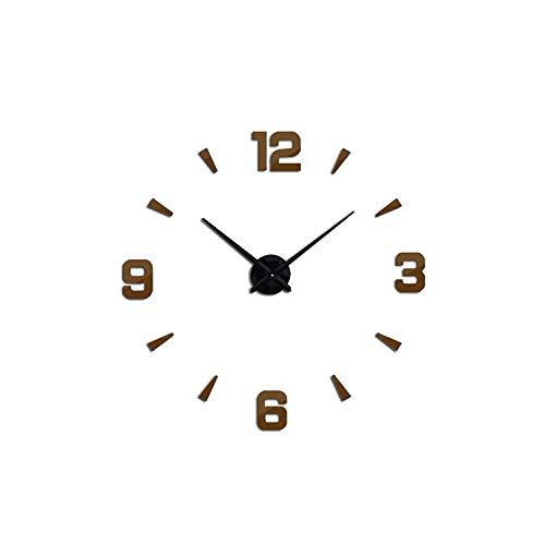 Tanng Set sail 2019 New Wall Clock Acrylic Metal Mirror Big Personalized -